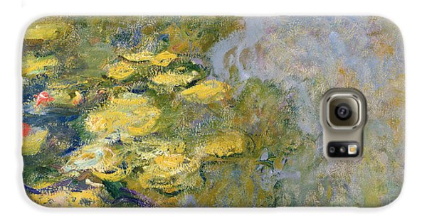 The Waterlily Pond Galaxy S6 Case by Claude Monet