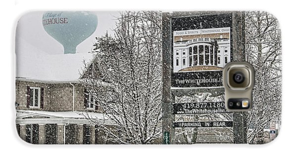 The Whitehouse Inn Sign 7034 Galaxy S6 Case by Jack Schultz