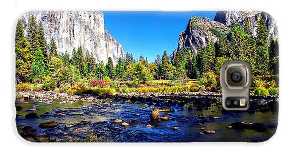Valley View Yosemite National Park Galaxy S6 Case by Scott McGuire