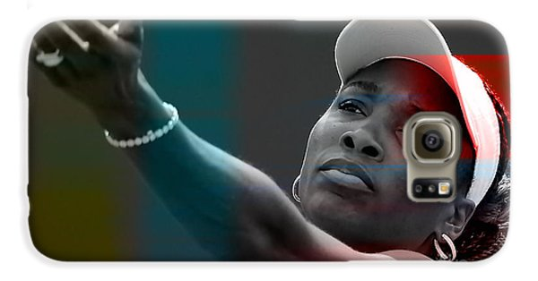 Venus Williams Galaxy S6 Case by Marvin Blaine