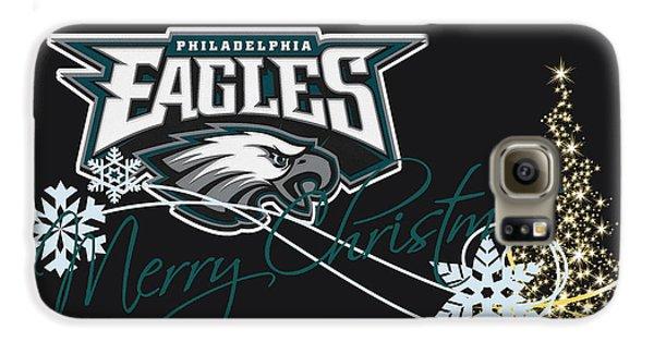 Philadelphia Eagles Galaxy S6 Case by Joe Hamilton