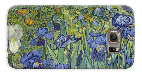 Irises Galaxy S6 Case by Vincent Van Gogh
