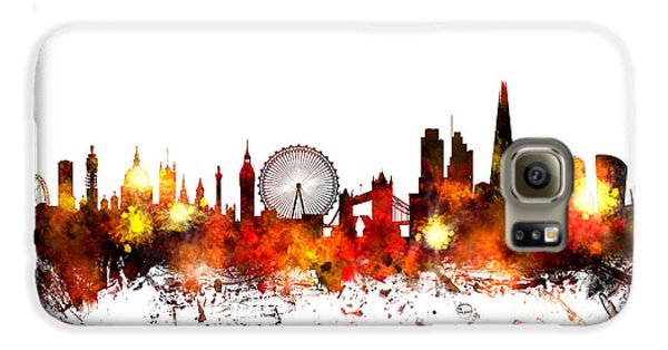 London England Skyline Galaxy S6 Case by Michael Tompsett