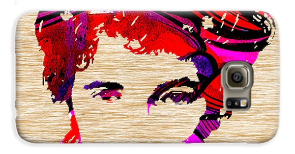 Bruce Springsteen Galaxy S6 Case by Marvin Blaine