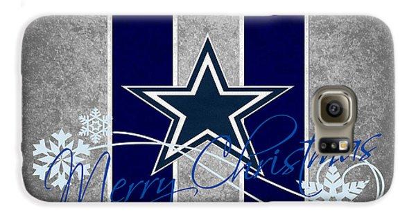 Dallas Cowboys Galaxy S6 Case by Joe Hamilton