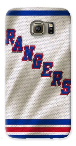 New York Rangers Galaxy S6 Case by Joe Hamilton
