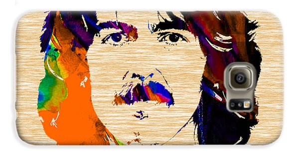 George Harrison Collection Galaxy S6 Case by Marvin Blaine