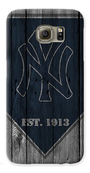 New York Yankees Galaxy S6 Case by Joe Hamilton