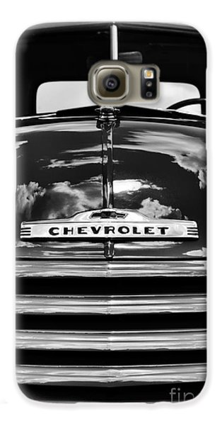 1951 Chevrolet Pickup Monochrome Galaxy S6 Case by Tim Gainey