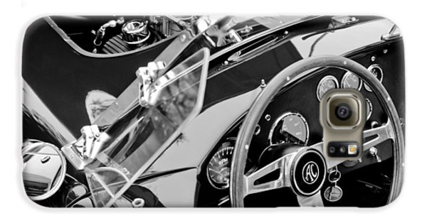 Ac Shelby Cobra Engine - Steering Wheel Galaxy S6 Case by Jill Reger