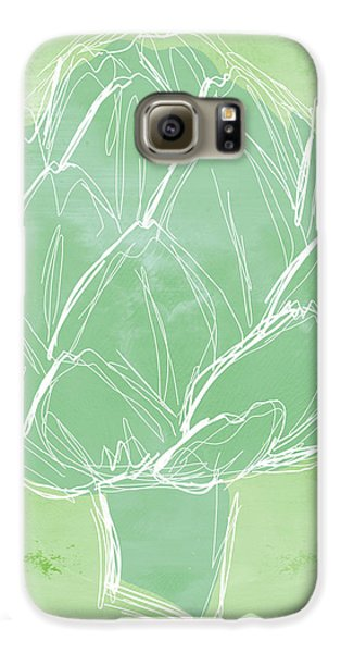 Artichoke Galaxy S6 Case by Linda Woods