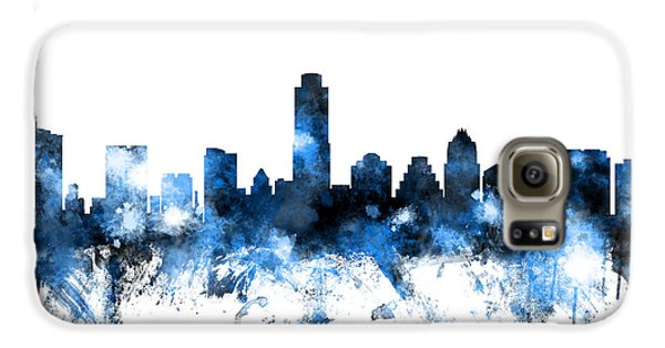 Austin Texas Skyline Galaxy S6 Case by Michael Tompsett