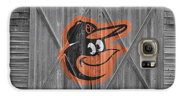 Baltimore Orioles Galaxy S6 Case by Joe Hamilton