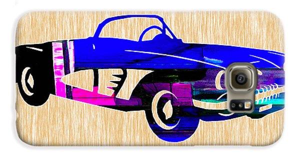 Classic Corvette Galaxy S6 Case by Marvin Blaine