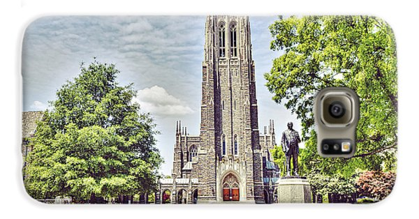 Duke Chapel In Spring Galaxy S6 Case by Emily Kay