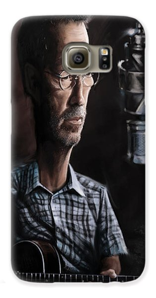 Eric Clapton Galaxy S6 Case by Andre Koekemoer