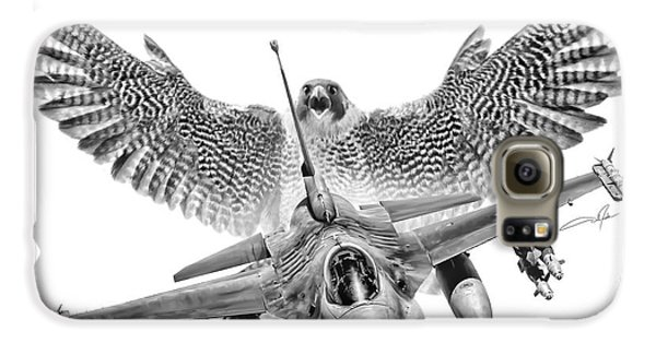 F-16 Fighting Falcon Galaxy S6 Case by Dale Jackson