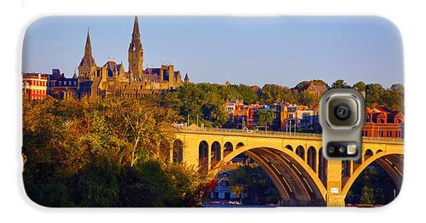 Georgetown Galaxy S6 Case by Mitch Cat
