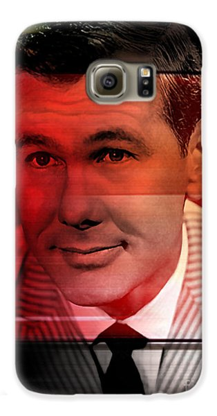 Johnny Carson Galaxy S6 Case by Marvin Blaine