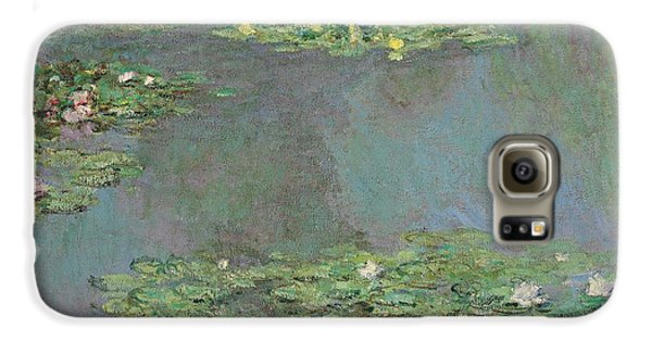 Nympheas Galaxy S6 Case by Claude Monet