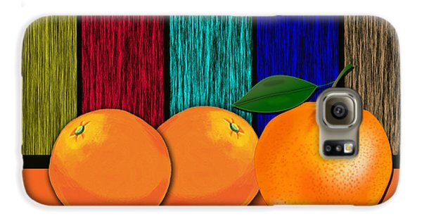 Oranges Galaxy S6 Case by Marvin Blaine
