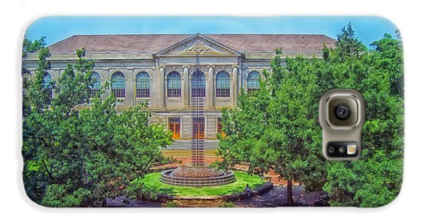 The Old Main - University Of Arkansas Galaxy S6 Case by Mountain Dreams