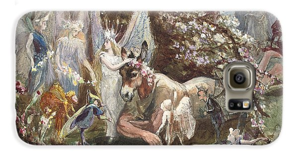 Titania And Bottom Galaxy S6 Case by John Anster Fitzgerald