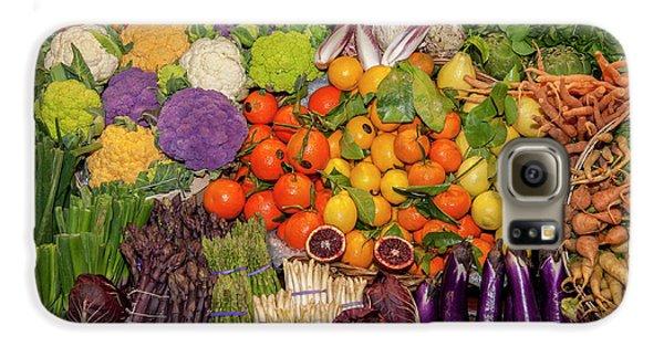 Usa, Massachusetts, Boston, Boston Food Galaxy S6 Case by Jim Engelbrecht