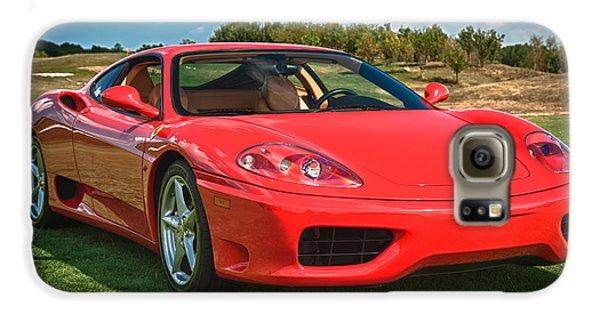 2001 Ferrari 360 Modena Samsung Galaxy Case by Sebastian Musial