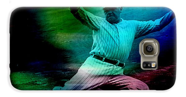 Babe Ruth Galaxy S6 Case by Marvin Blaine