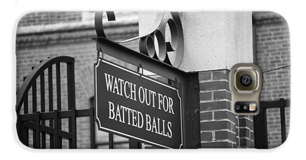 Baseball Warning Galaxy S6 Case by Frank Romeo