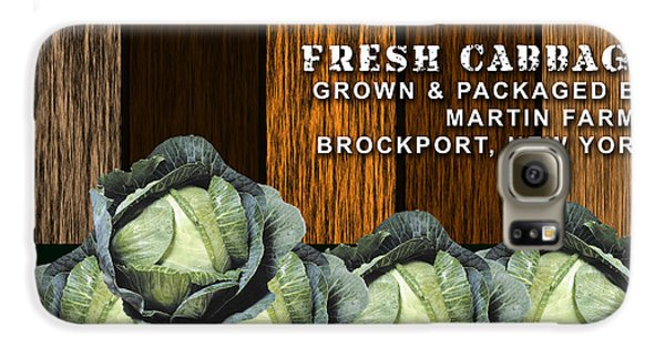 Cabbage Farm Galaxy S6 Case by Marvin Blaine