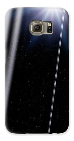 Chariklo Minor Planet And Rings Galaxy S6 Case by Detlev Van Ravenswaay