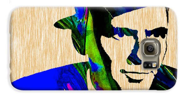 Frank Sinatra Painting Galaxy S6 Case by Marvin Blaine