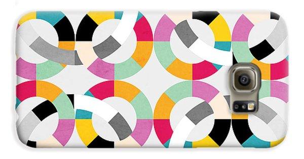 Geometric  Galaxy S6 Case by Mark Ashkenazi