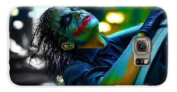 Heath Ledger Galaxy S6 Case by Marvin Blaine