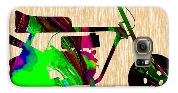 Mini Bike Galaxy S6 Case by Marvin Blaine