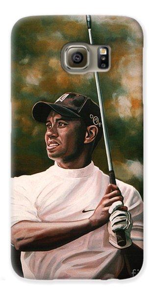Tiger Woods  Galaxy S6 Case by Paul Meijering