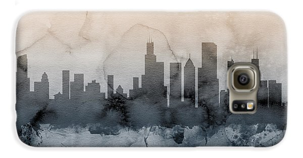 Chicago Illinois Skyline Galaxy S6 Case by Michael Tompsett