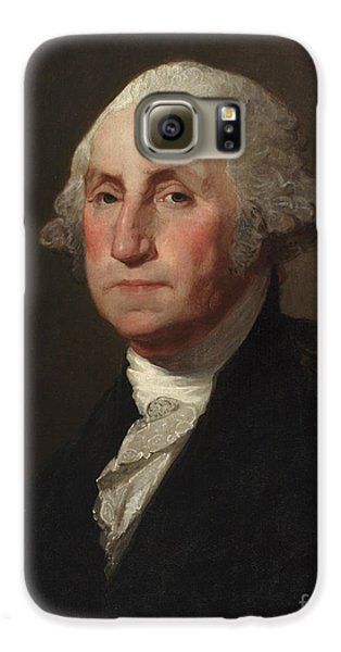 George Washington Galaxy S6 Case by Gilbert Stuart
