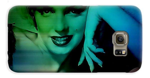 Marilyn Monroe Galaxy S6 Case by Marvin Blaine
