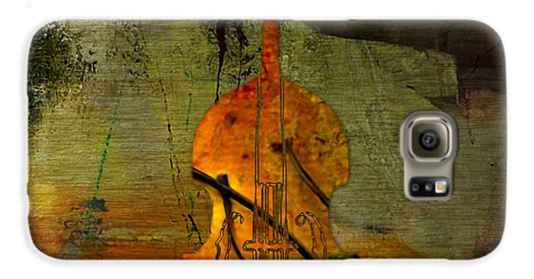 Upright Bass Galaxy S6 Case by Marvin Blaine