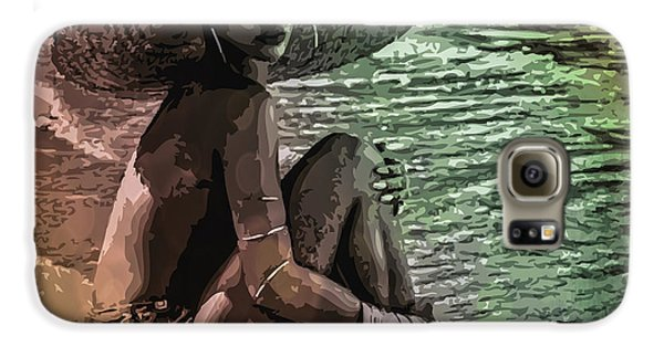 Rihanna Galaxy S6 Case by Svelby Art