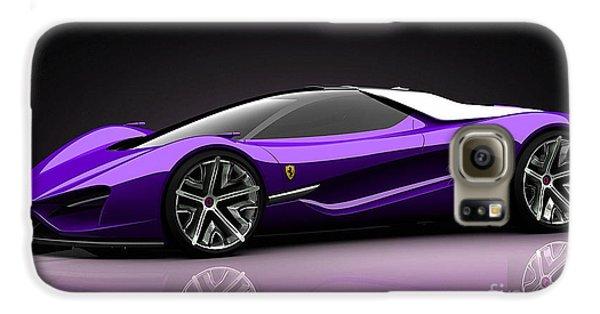 Ferrari Galaxy S6 Case by Marvin Blaine