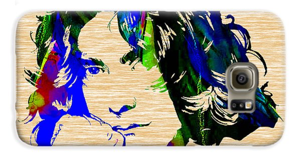 Robert Plant Collection Galaxy S6 Case by Marvin Blaine
