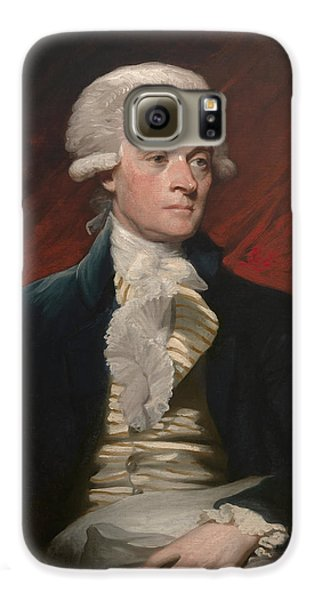 Thomas Jefferson Galaxy S6 Case by War Is Hell Store