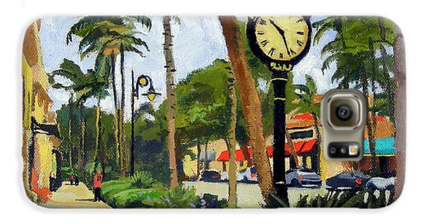5th Avenue Naples Florida Galaxy S6 Case by Christine Hopkins