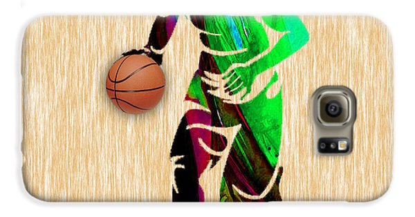 Basketball Galaxy S6 Case by Marvin Blaine