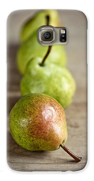 Pears Galaxy S6 Case by Nailia Schwarz