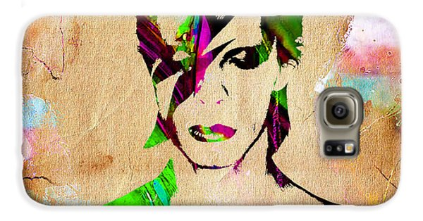 David Bowie Collection Galaxy S6 Case by Marvin Blaine